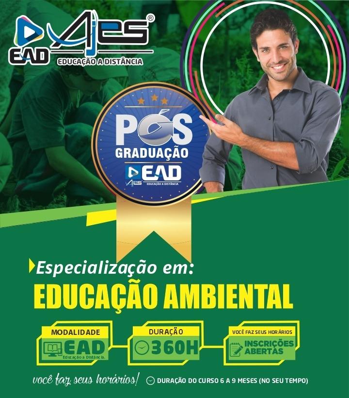 Especialização Docente em EDUCAÇÃO AMBIENTAL