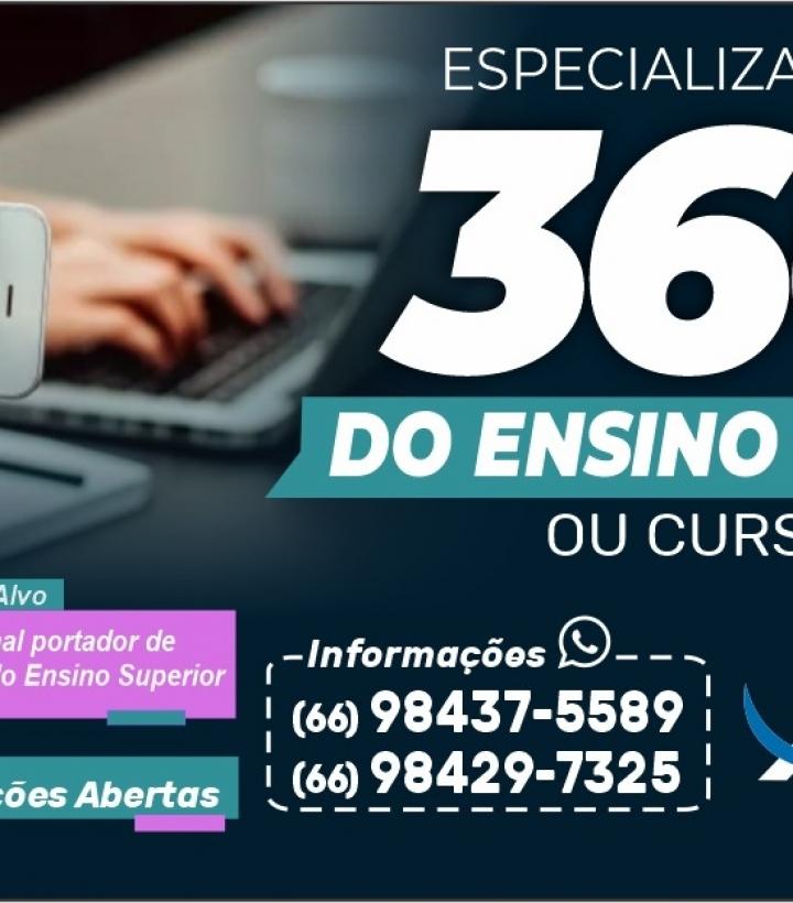 Especialização 360 Graus do Ensino Remoto