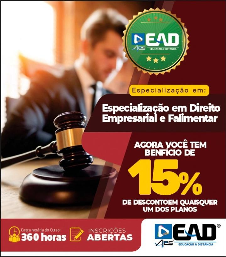 Especialização em Direito Empresarial e Falimentar