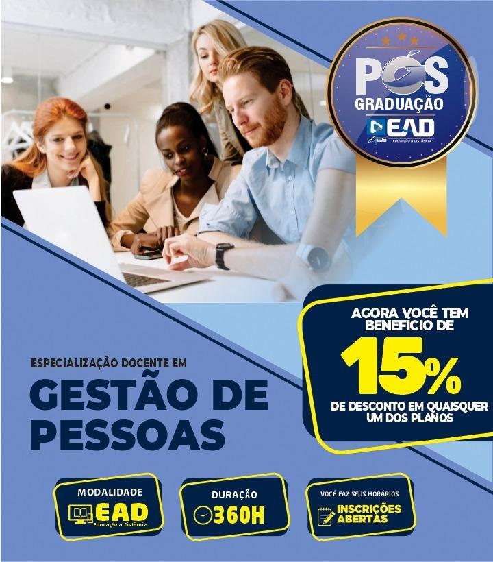 Especialização em - GESTÃO DE PESSOAS