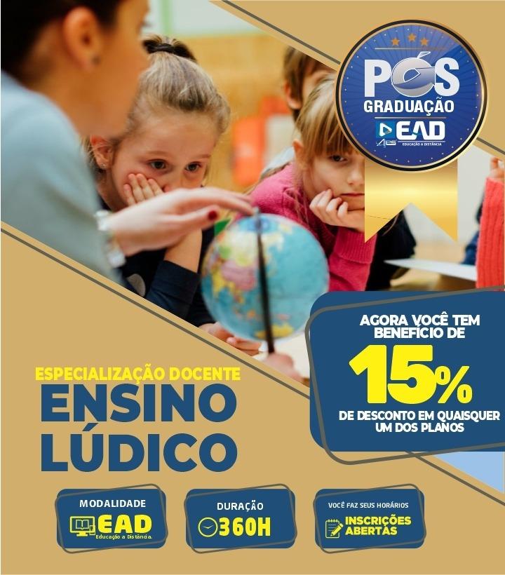 Especialização Docente ENSINO LÚDICO