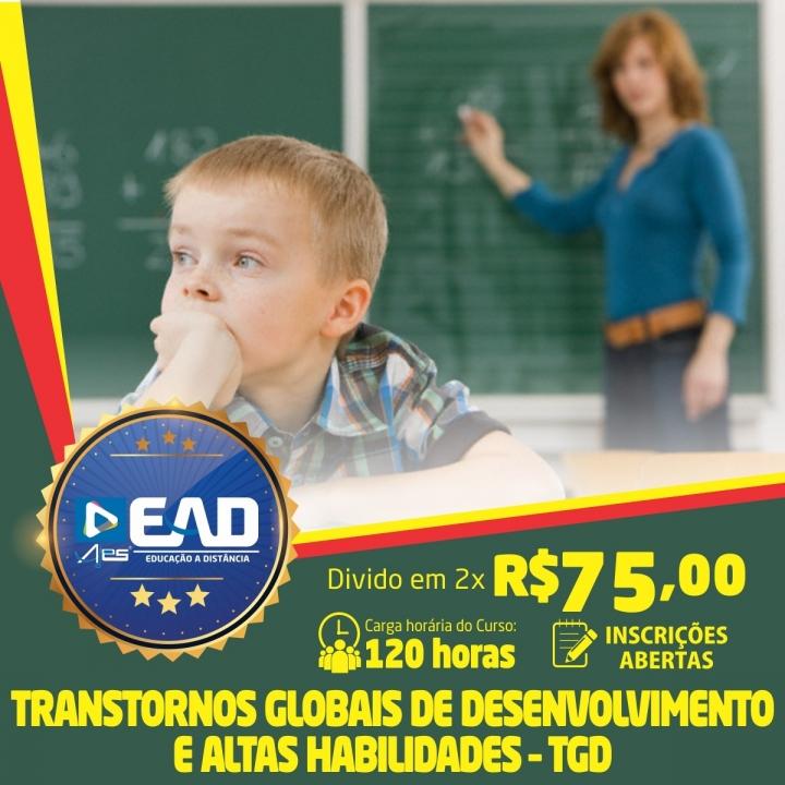 Curso de Formação Continuada em Transtornos Globais de Desenvolvimento e Altas Habilidades TGD