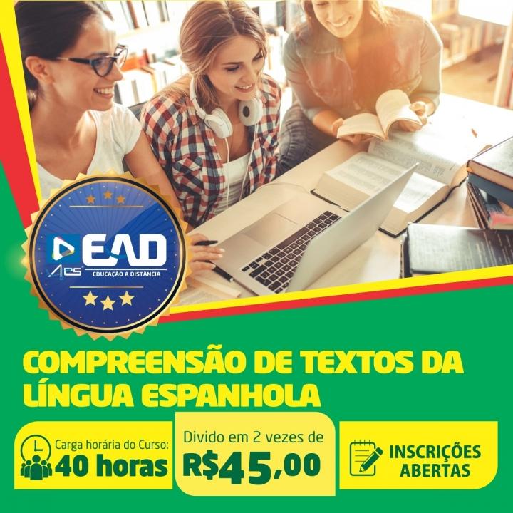 Curso de Extensão em Compreensão de Textos da Língua Espanhola