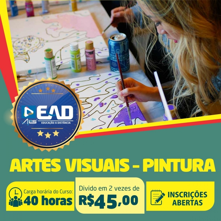Curso de Extensão em  Artes Visuais Pintura