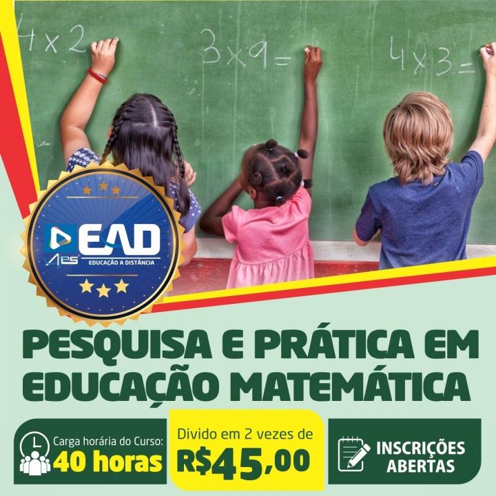 Curso de Extensão em  Pesquisa e Prática em Educação da Matemática