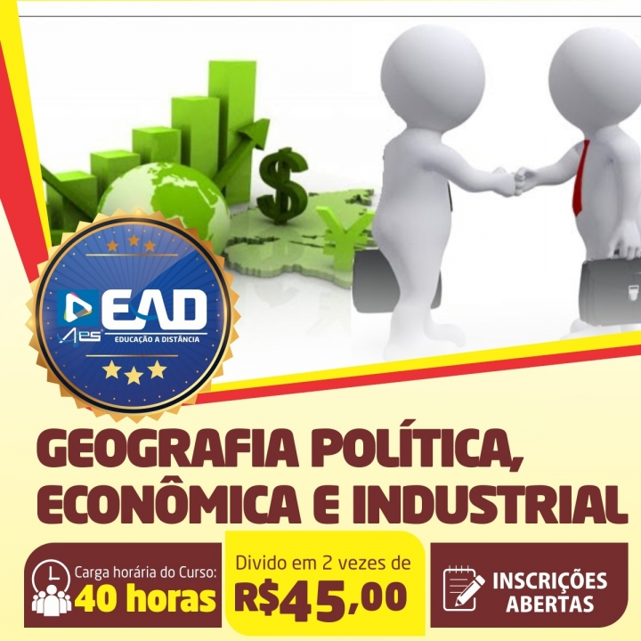 Curso de Extensão em  Geografia Política, Econômica e Industrial