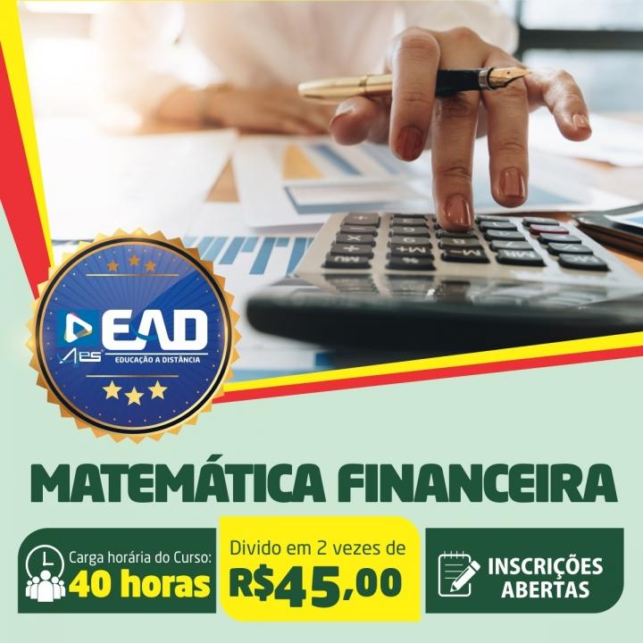 Curso de Extensão em  Matemática Financeira