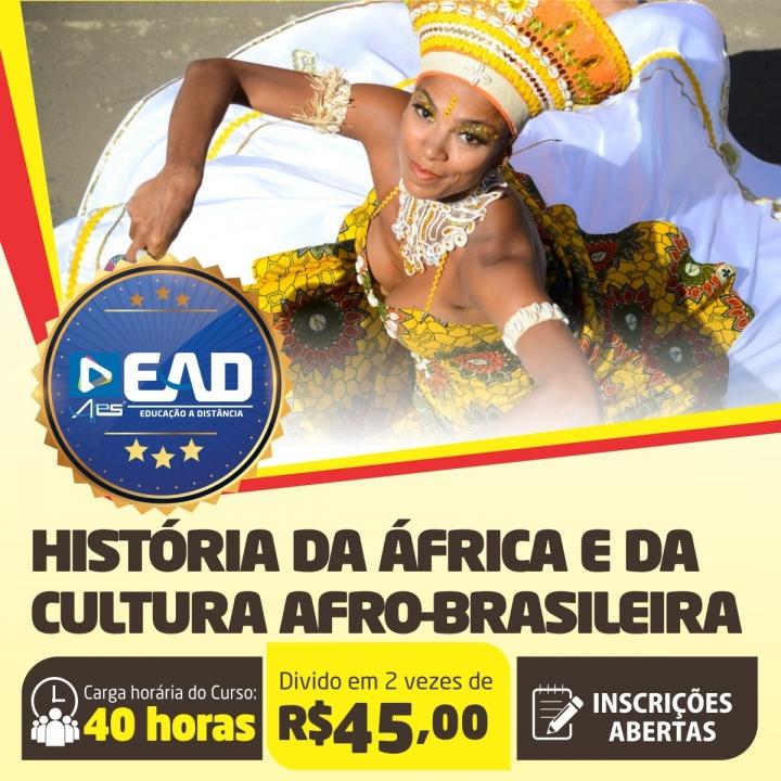Curso de Extensão em  História da África e da Cultura Afro-Brasileira