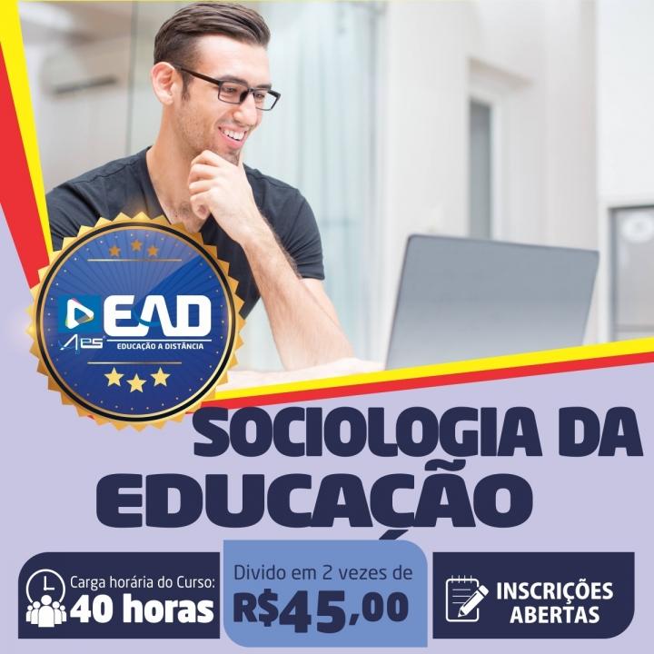 Curso de Extensão em  Sociologia da Educação