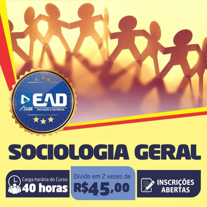 Curso de Extensão em Sociologia Geral