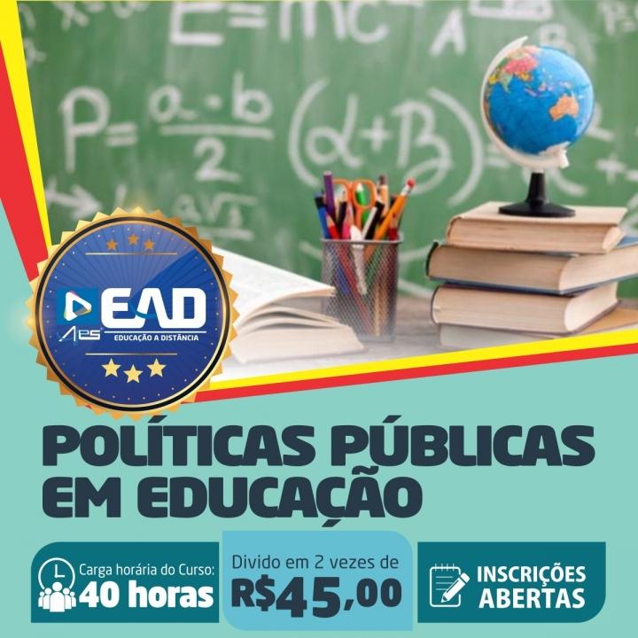 Curso de Aperfeiçoamento em  Políticas Públicas em Educação