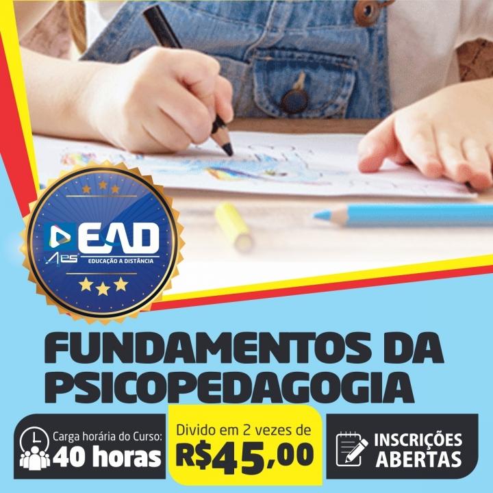 Curso de Extensão em  Fundamentos da Psicopedagogia