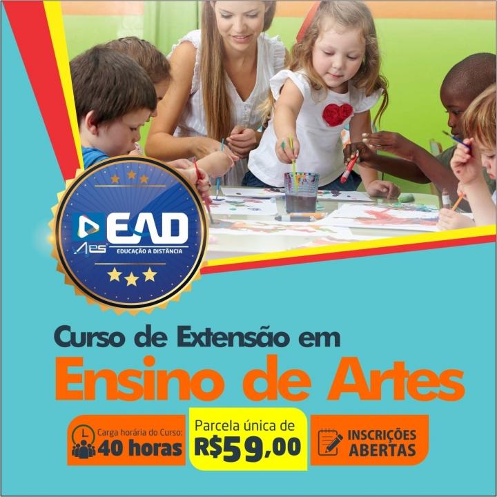 Curso de Extensão em Ensino de Artes