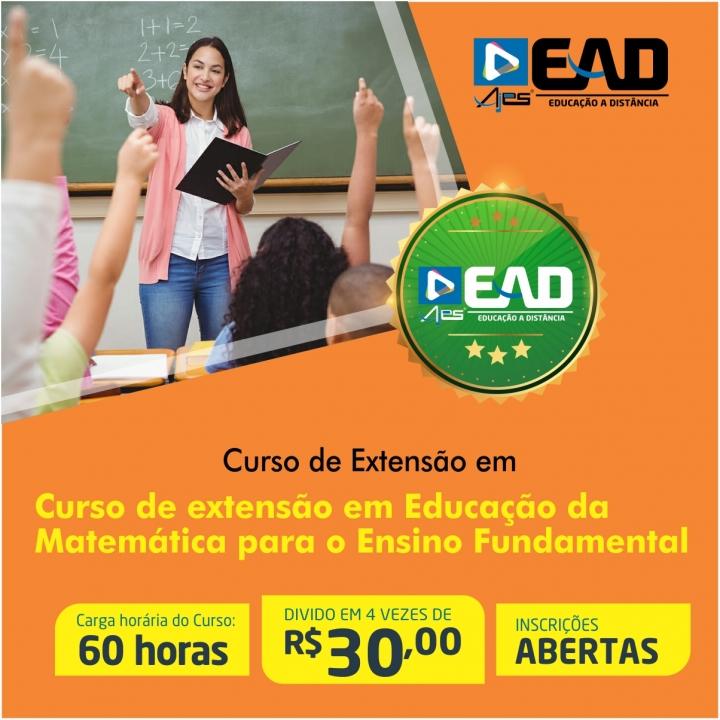 Curso de extensão em Educação da Matemática para o Ensino Fundamental