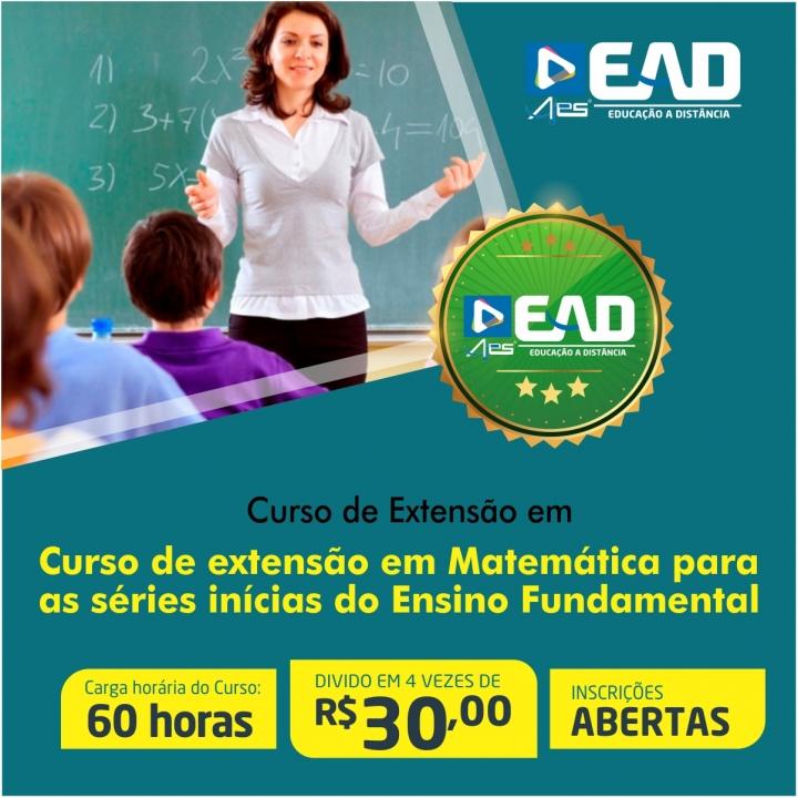 Curso de extensão em Matemática para as séries inícias do Ensino Fundamental