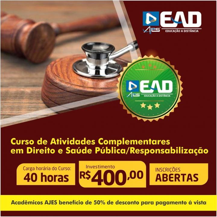 Curso de Atividades Complementares em Direito e Saúde Pública/Responsabilização