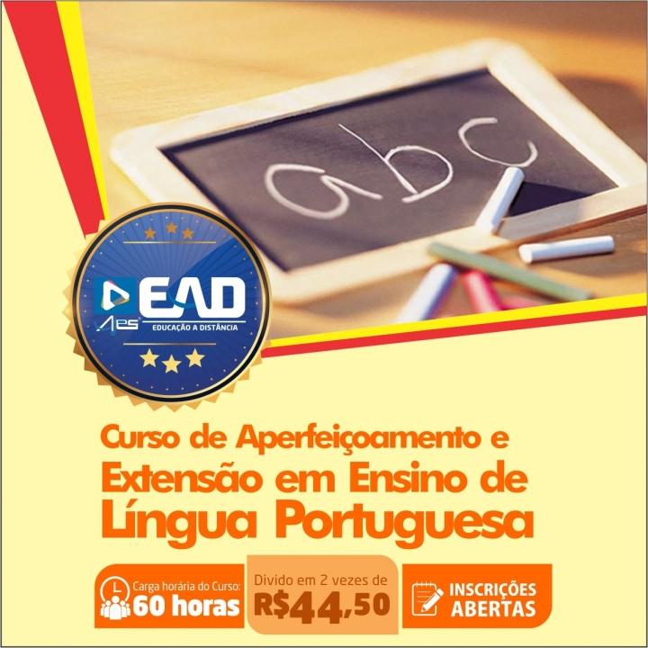 Curso de Aperfeiçoamento e Extensão em Ensino de Língua Portuguesa