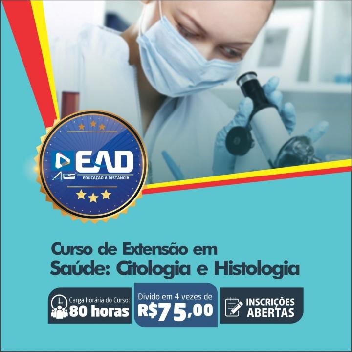 Curso de Extensão em Saúde: Citologia e Histologia