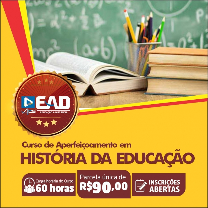 Curso de extensão em: HISTÓRIA DA EDUCAÇÃO