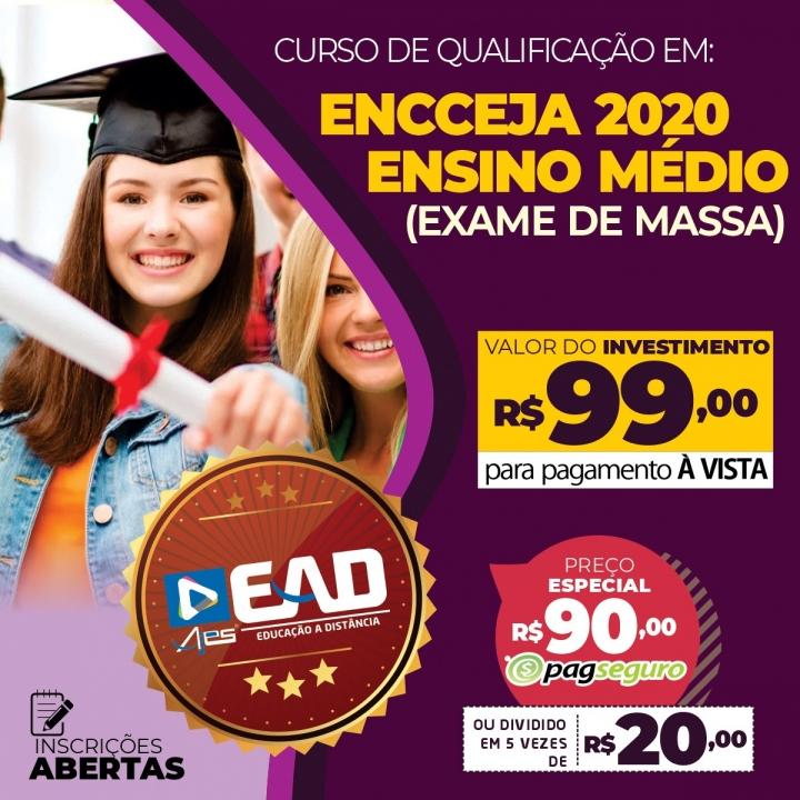 ENCCEJA 2020 - ENSINO MÉDIO (EXAME DE MASSA)