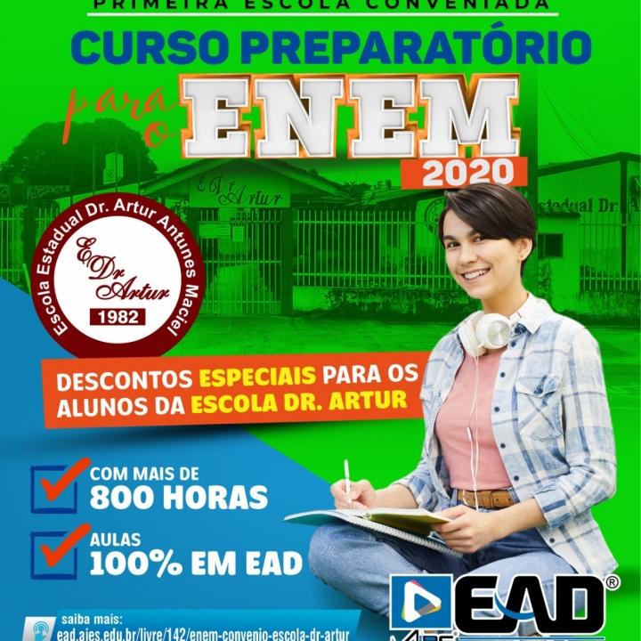 ENEM - CONVÊNIO ESCOLA DR ARTUR