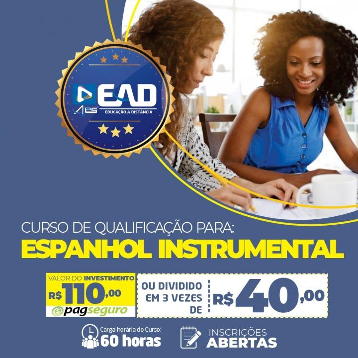 CURSO DE QUALIFICAÇÃO EM: ESPANHOL INSTRUMENTAL