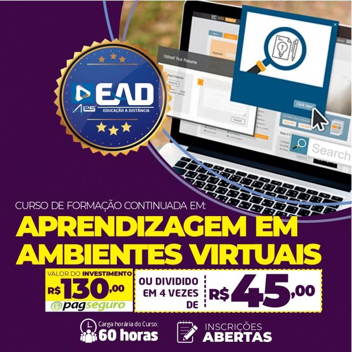 Curso de Formação Continuada em Aprendizagem em Ambientes Virtuais