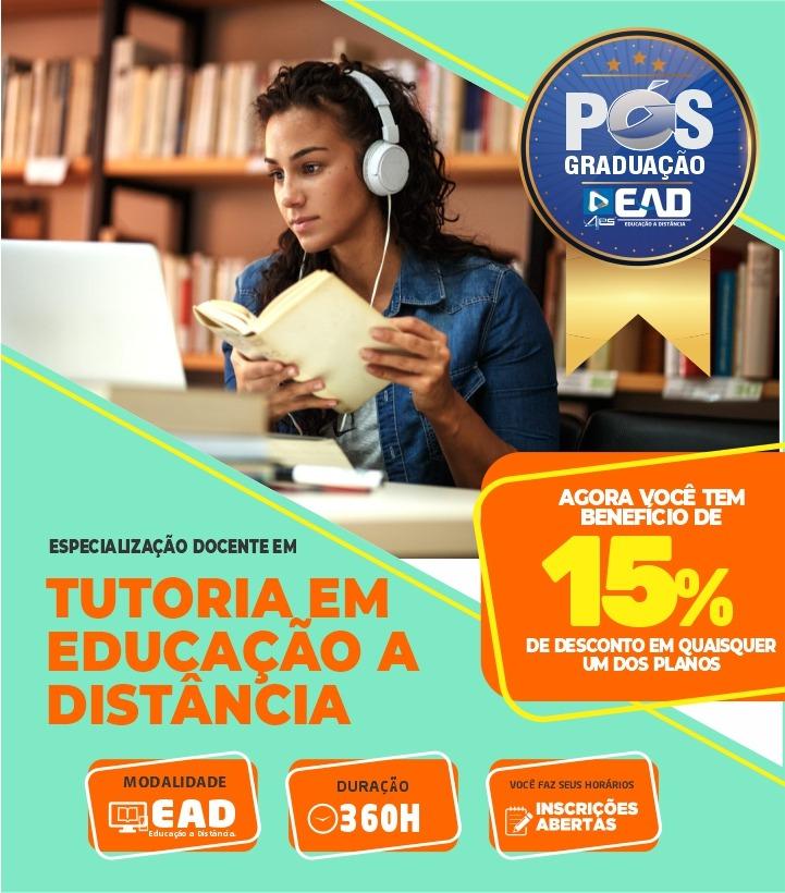 Especialização Docente - TUTORIA EM EDUCAÇÃO A DISTÂNCIA
