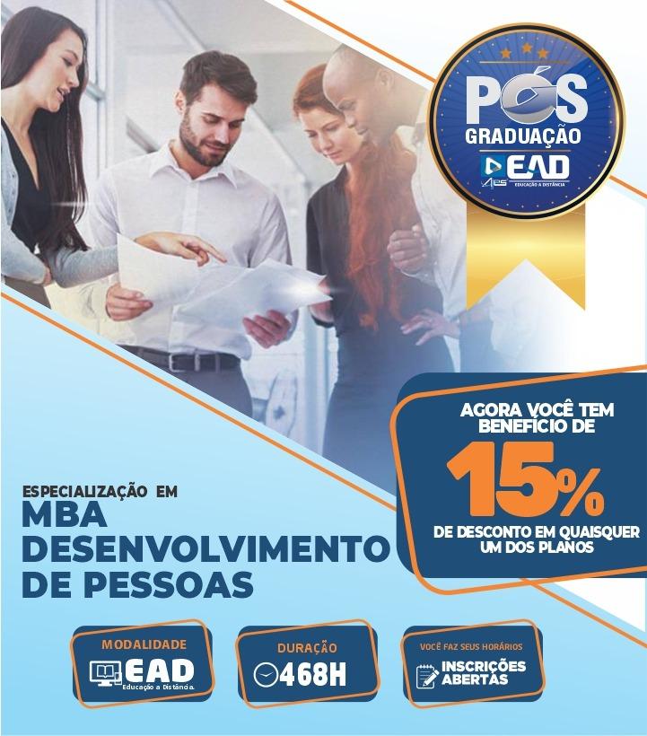 MBA – DESENVOLVIMENTO DE PESSOAS